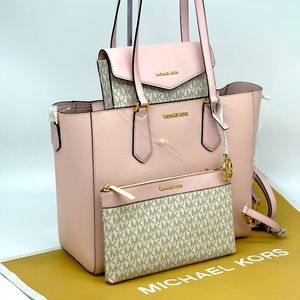 Michael Kors Kimberly 3 in 1 Large Tote